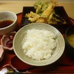 天ぷら やす田 - 天ぷら定食
