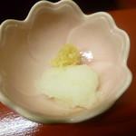 天ぷら やす田 - 大根おろし
