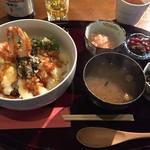 TEM-PU - 海老天丼1