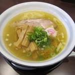 らーめん・つけ麺 吉田商店 - オイラの「芳醇鶏 塩らーめん」