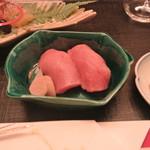 京料理 木乃婦 - 中トロのお寿司