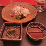 京料理 木乃婦 - お造り1