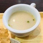 チャンダニ - スープもあります。