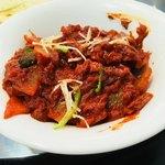 チャンダニ - カレーはプローンチリ(10辛)で。これおいしい!