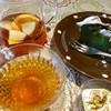 カフェ ブリックス - 料理写真:フレッシュ・フルーツティ+お抹茶ガトーショコラ