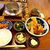 囲炉裏料理わ - 料理写真:牡蠣フライ定食♡
