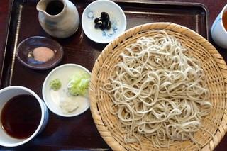 そばの実 - 十割蕎麦¥980