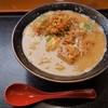 与七 - 料理写真:酒粕ラーメン(800円)