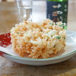 惣右エ門 - 料理写真:生桜海老のかき揚げ