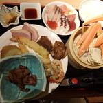 第一滝本館 - 料理写真:夕食バイキングより