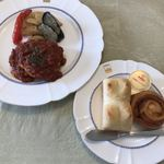 レストラン緑屋 - イタリアンハンバーグとパンセット