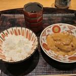 実家 くろぎ - ゴマ鯛茶漬け
