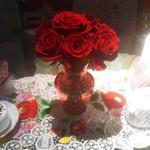 草里 - 真っ赤な薔薇