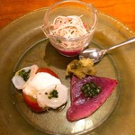 オステリア アバッキオ - 前菜1