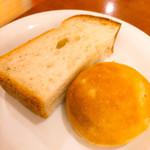 オステリア アバッキオ - パン