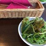 森のボナペティ - これまで食べたサラダの中で最も野菜の風味が濃く感じました。不思議。
