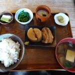 臺眠 - 料理写真:麦とろ定食