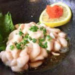手打蕎麦 大江戸 - 料理写真:白子ポン酢 750円