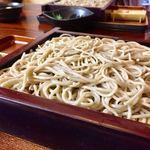 手打蕎麦 大江戸 - せいろ 770円