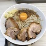 麺屋ガテン - MAZEそば(肉増しトッピング)♪