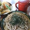 報徳庵 - 料理写真:天ざるそば