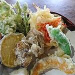 報徳庵 - 野菜天ぷら