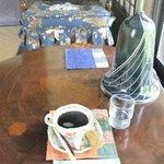 座 ギャラリー喫茶 - 水出しコーヒー600円