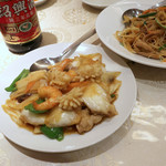 南国亭 - 海鮮炒め
