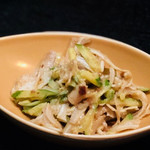 沖縄料理 ダルマ - ミミガー炒め¥500