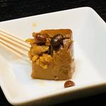 沖縄料理 ダルマ - 豆腐よう¥500