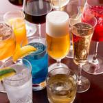 MUBU - ワイン以外にもプレミアムモルツ生ビール、ウイスキー、カクテル、梅酒、焼酎、日本酒等もご用意しております