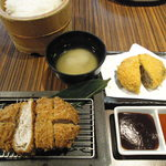銀座 ゲンカツ - 料理写真:キムカツ膳(ガーリック)