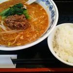 りんりん - 料理写真:担々麺と小ライス