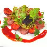 KYOKAWA - あまおう苺と海老のサラダ仕立て