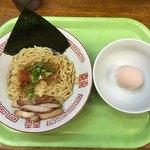 拳10ラーメン - 拳10油そば(生卵付)