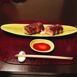 79752854 - ★10逸品 五島産炙り鯖鮨