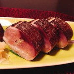 79752857 - ★10逸品 五島産炙り鯖鮨
