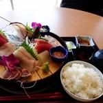 わたしの店 - 料理写真:日替わり刺身定食。