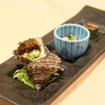 ステーキハウス キッチンリボン - ☆サザエのガーリックバター