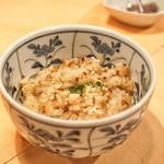 ステーキハウス キッチンリボン - ☆ガーリックライス