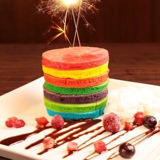 ★誕生日、記念日にレインボープレートはいかがですか?