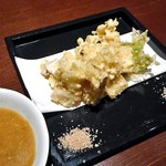 79757783 - 穴子天ぷら ふきのとう味噌