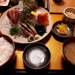 酒菜食彩 七福 - 豪快定食1,200円