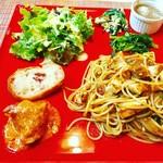 エ・ヴィータ - 本日のスペシャルパスタプレート【料理】