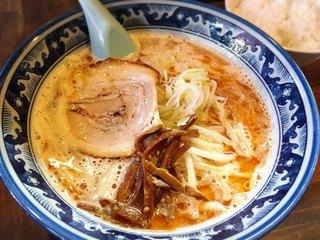 麺や 樽座 子安町店 - えび味噌らーめん