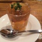 オー・ペシェ・グルマン - 料理写真:ニンジンのムース ウニコンソメのジュレ