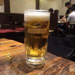 だるま - 生ビール