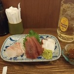 魚問屋 魚政宗 - せんべろセット(+2杯付)