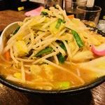 トナリ - 味噌タンメン(850円)