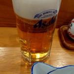 79762490 - 生ビール(スーパードライ)450円